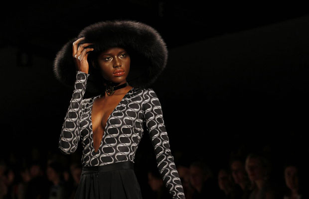 Royal designer rocks London fashion week