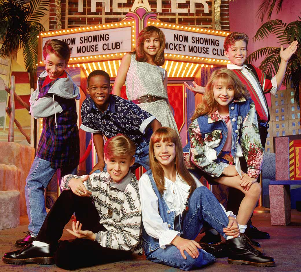 Throwback Thursday: The Mickey Mouse Club and baby Britney Spears, Justin Timberlake, Christina Aguilera and Ryan Gosling