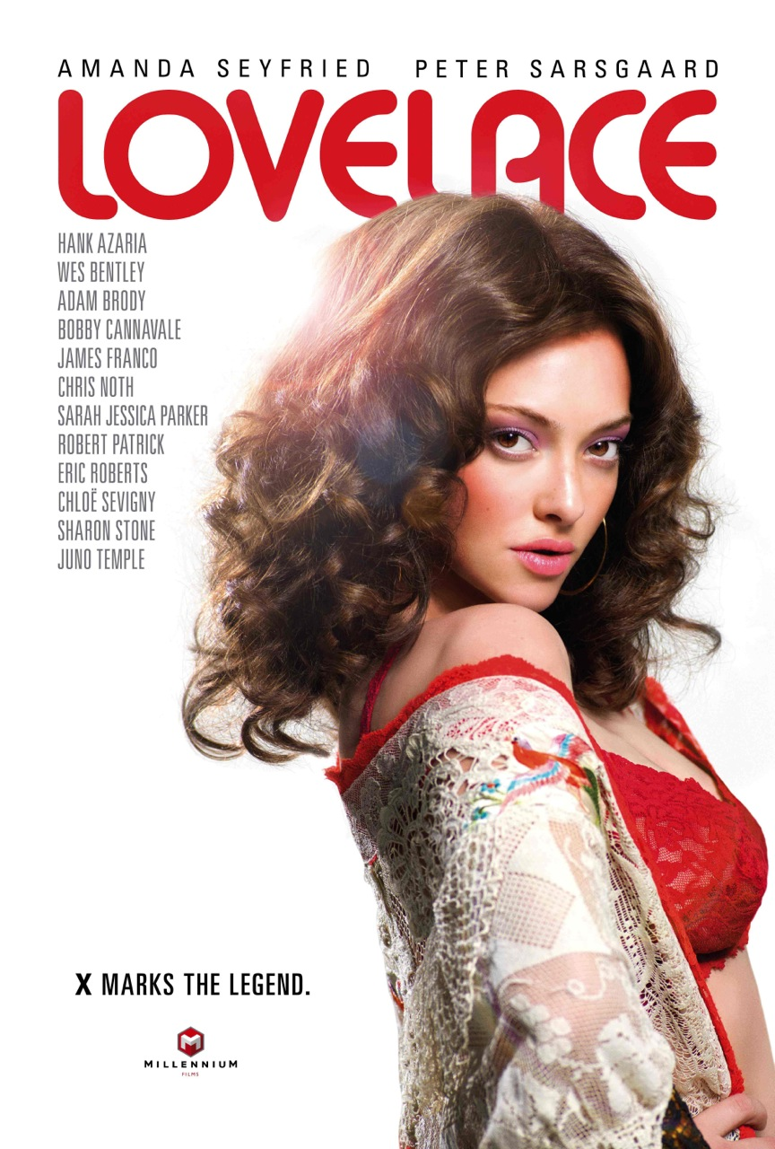 New Lovelace trailer shows Amanda Seyfried playing porn star Linda Lovelace, star of Deep Throat - scandalous!