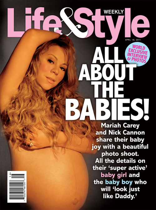 Top 10 stars who showed off their baby bumps in (sexy) magazine spreads