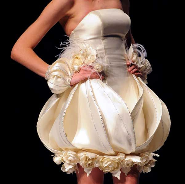 Ugliest Wedding: Top 10 Ugliest Wedding Dresses You Will Ever See... A