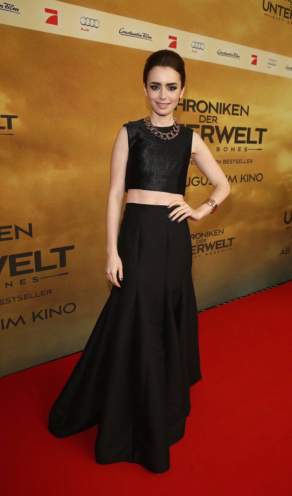 Lily Collins' The Mortal Instruments: City of Bones premiere outfit blew us away, now we're copying her look for less!