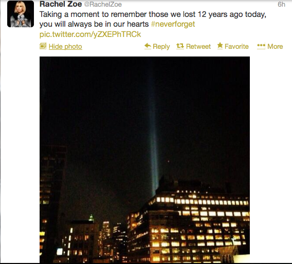 #NeverForget: Celebrities share their 9/11 prayers and memories on Twitter