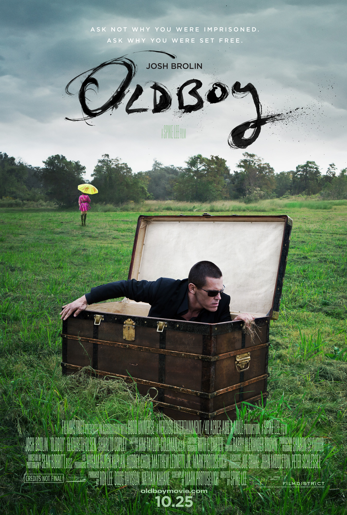 OldBoy, Homefront and Frozen are our must-see movies of the week