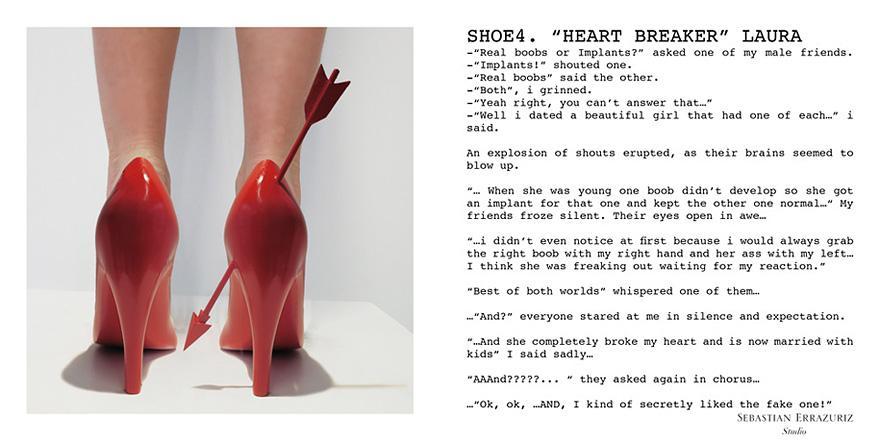 e87ccef803e Sebastian Errazuriz unveils stunning '12 Shoes for 12 Lovers' at Art ...
