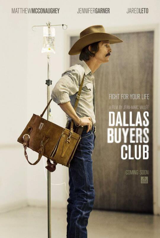 Oscar nominations revealed, Jean-Marc Vallee's Dallas Buyers Club snags six