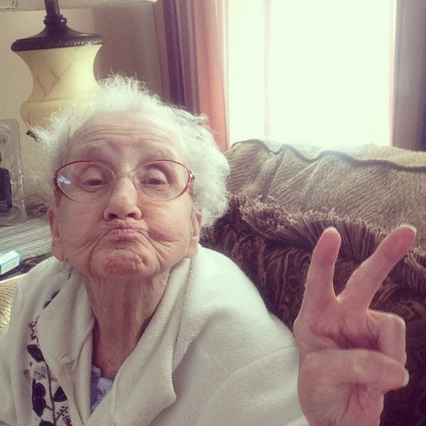 Grandma Betty is battling cancer but you'd never know it from her heart-warming, inspiring Instagram