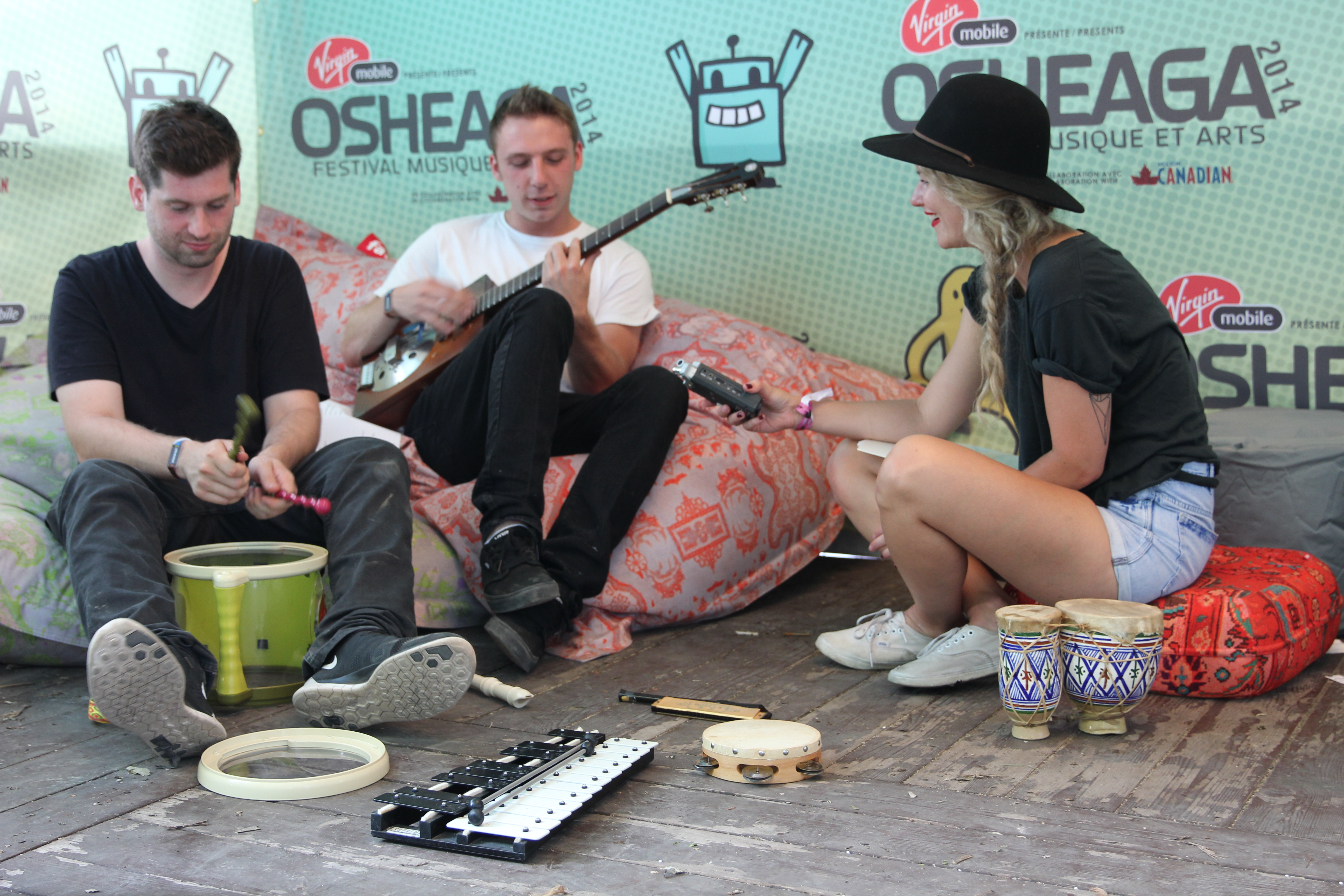 Odesza loves Local Natives @ Osheaga 2014
