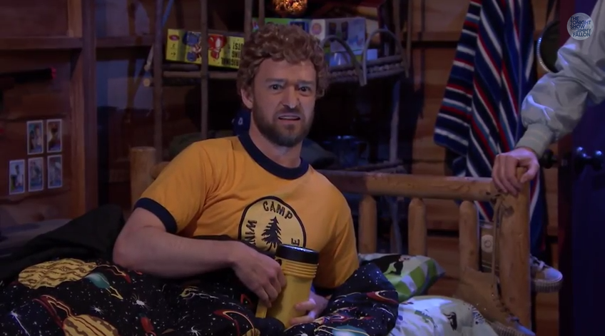 Justin Timberlake joins Jimmy Fallon at summer camp and we couldn't ask for more [VIDEO]
