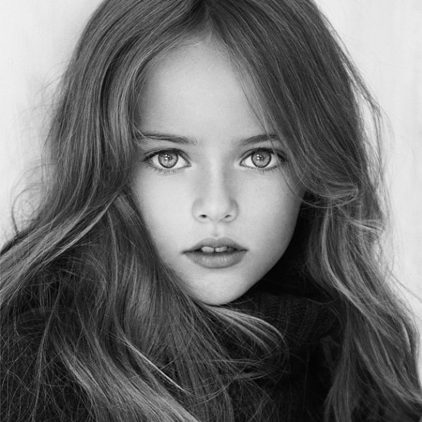 Meet 9-year-old Kristina Pimenova, the world's youngest supermodel
