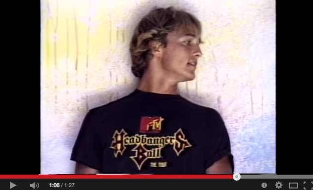 23-year-old Matthew McConaughey might just be the hottest guy ever [VIDEO]