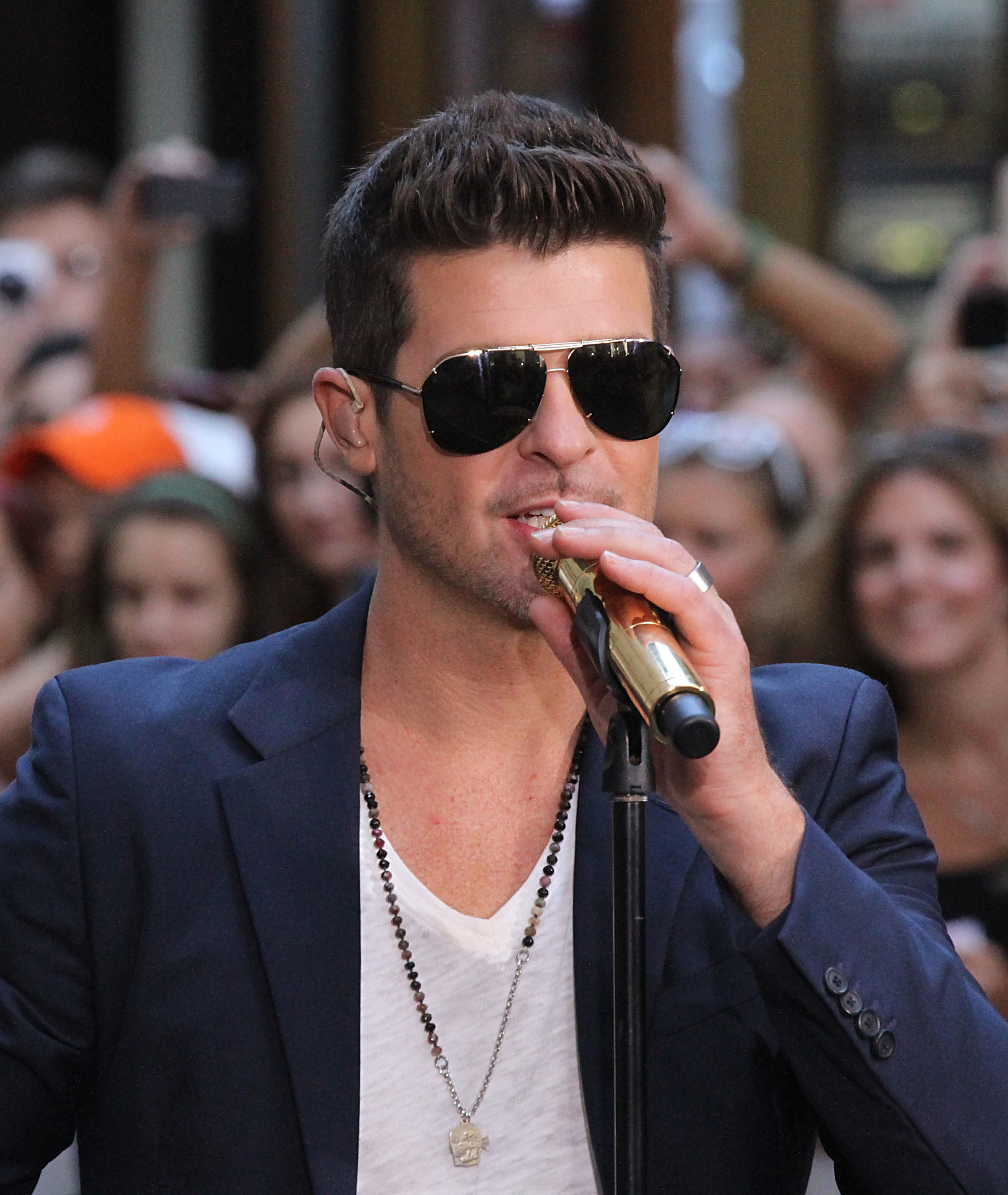Pharrell Williams, Robin Thicke found guilty of infringing Marvin Gaye copyright with 'Blurred Lines'