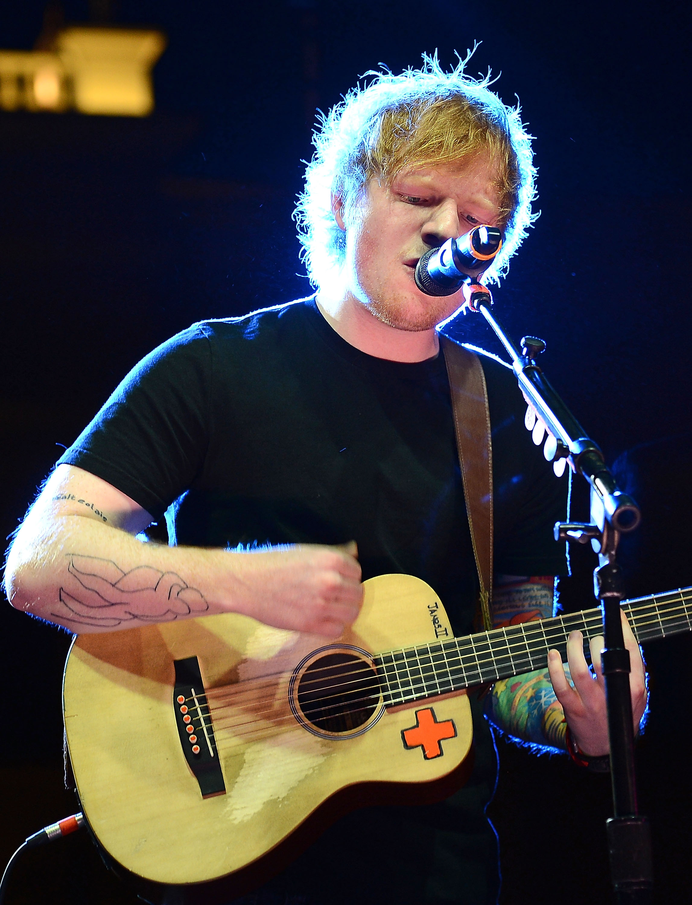 Ed Sheeran encourages kids to embrace