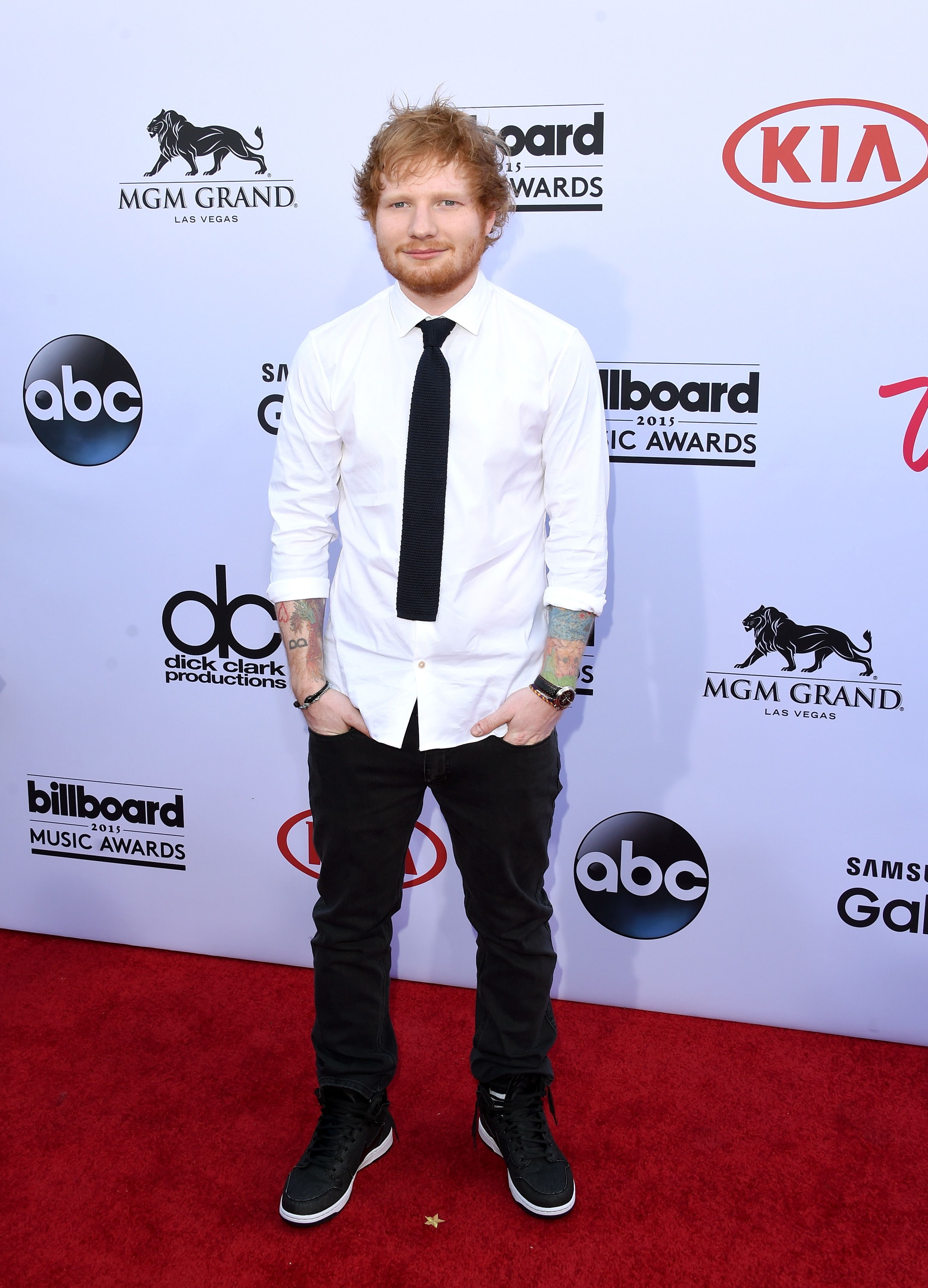 Did Ed Sheeran lie about his lion chest tattoo?!