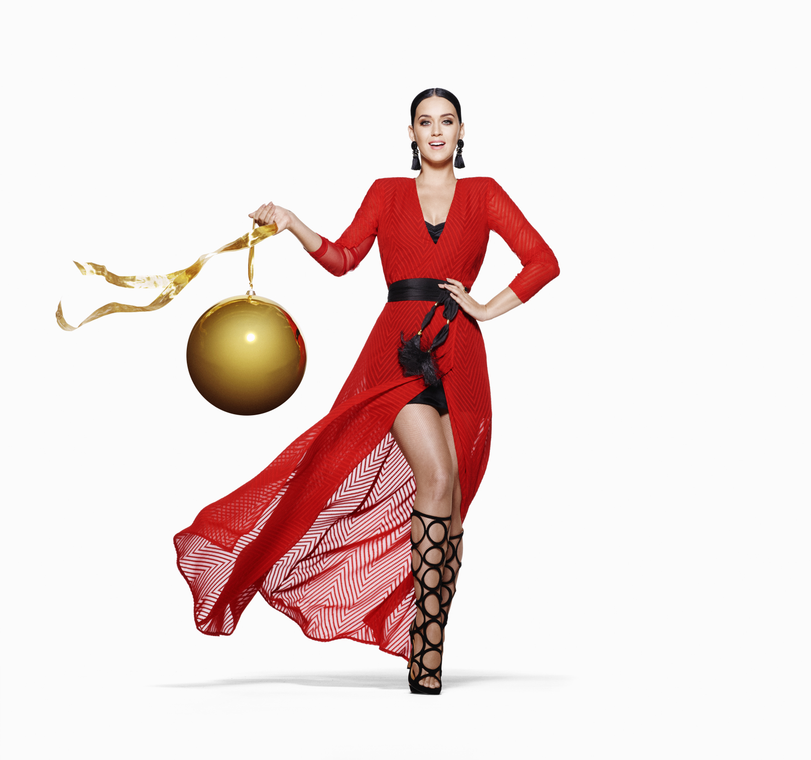 See Katy Perry modeling H&M's special holiday collection [GALLERY]