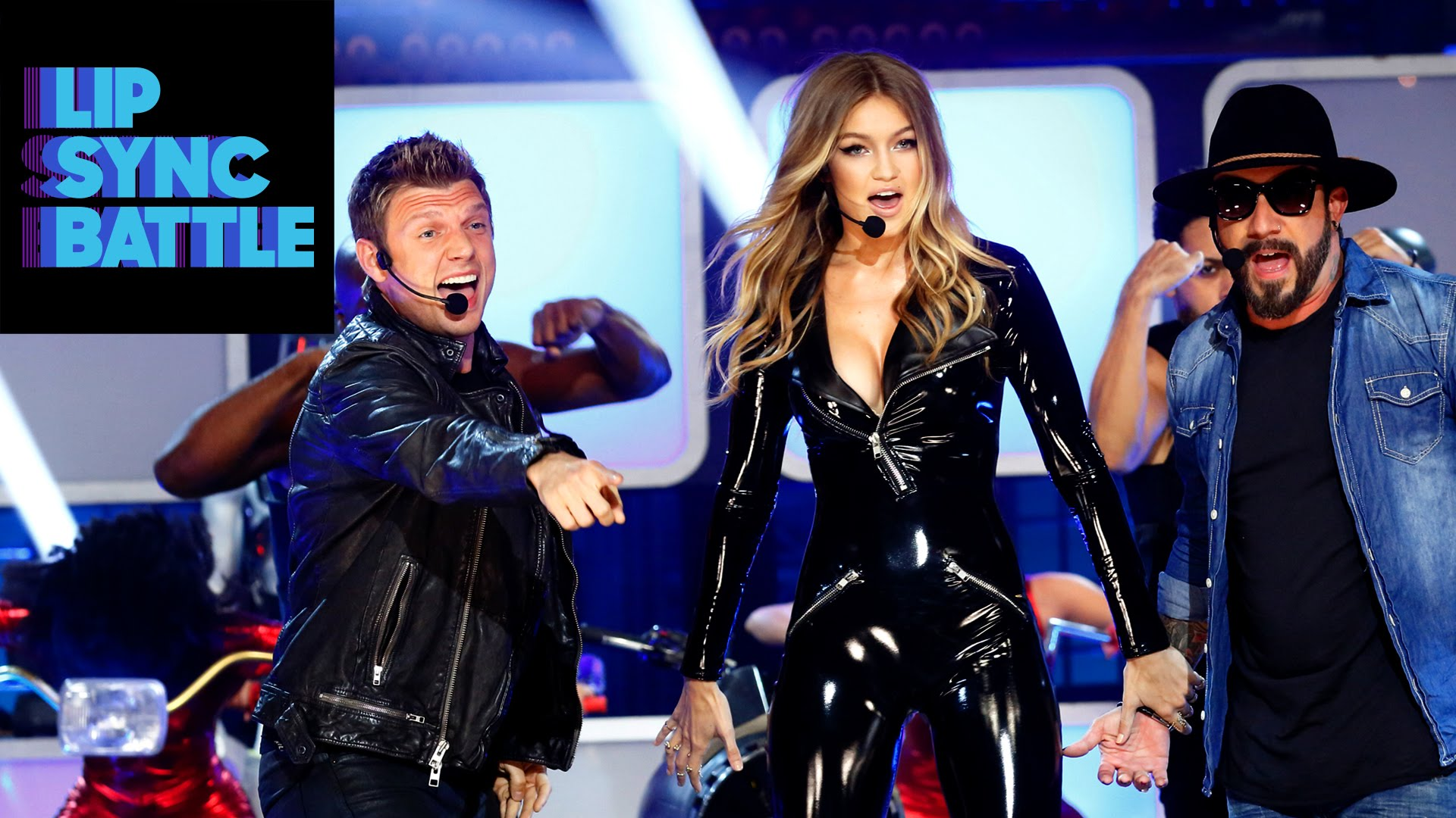 ​Gigi Hadid and The Backstreet Boys rock Lip Sync Battle - we can't even! [VIDEO]