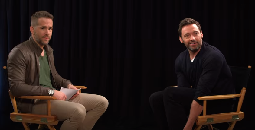 Ryan Reynolds interviews Hugh Jackman about his affair with Blake Lively [VIDEO]
