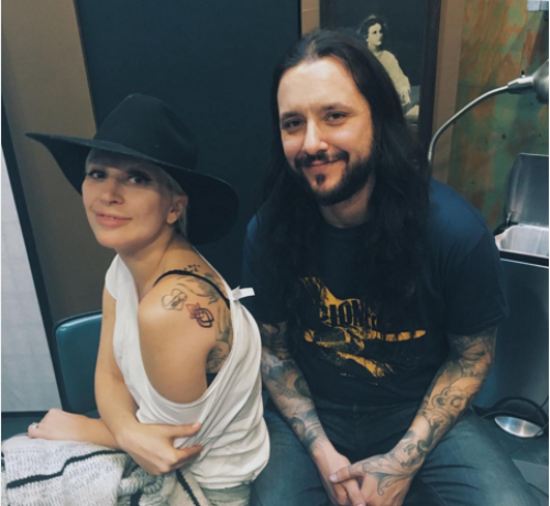 Lady Gaga gets matching tattoo with survivors from Oscars performance - see the ink here!
