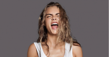 ​Cara Delevingne gets a creepy tattoo!
