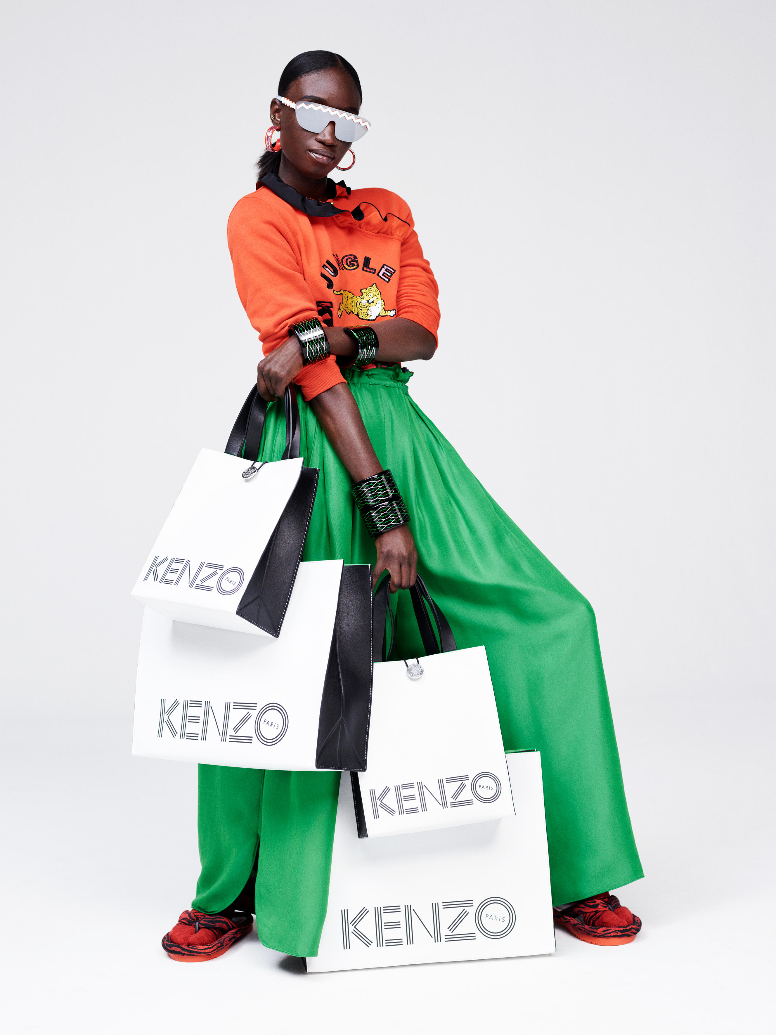 See the full KENZO x H&M collection lookbook - yes, every single piece! [GALLERY]