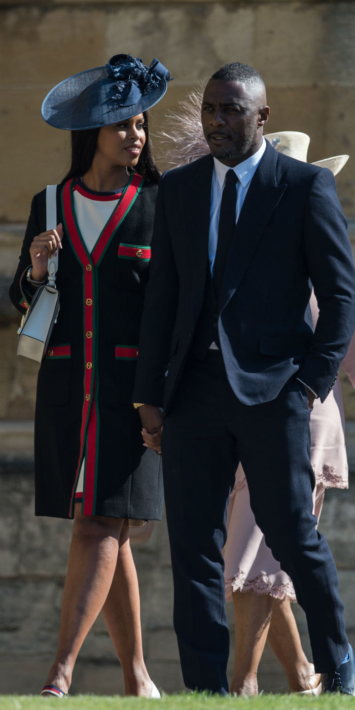 Celebrities Attend the Royal Wedding