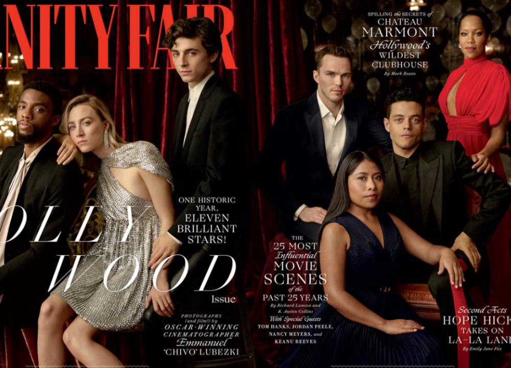 Tessa Thompson, Timothée Chalamet, Rami Malek and More Cover Vanity Fair's Hollywood Issue