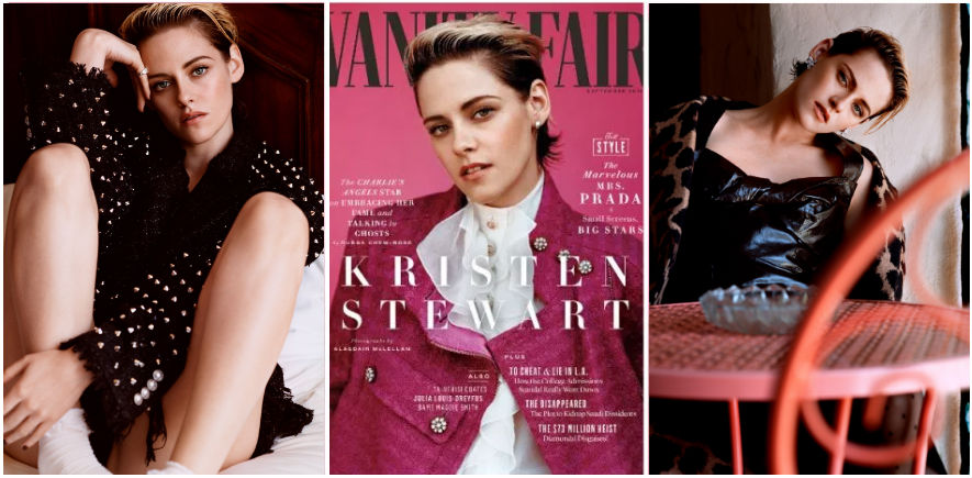 Kristen Stewart Talks Ghosts and Girlfriends in Vanity Fair