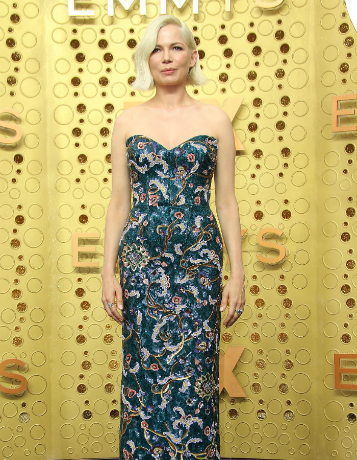 Michelle Williams wears Louis Vuitton at the 2019 Emmys
