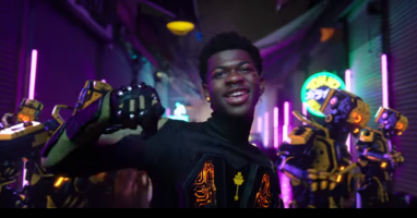 "Lil Nas X Achieves World Domination in the ""Panini"" Video"