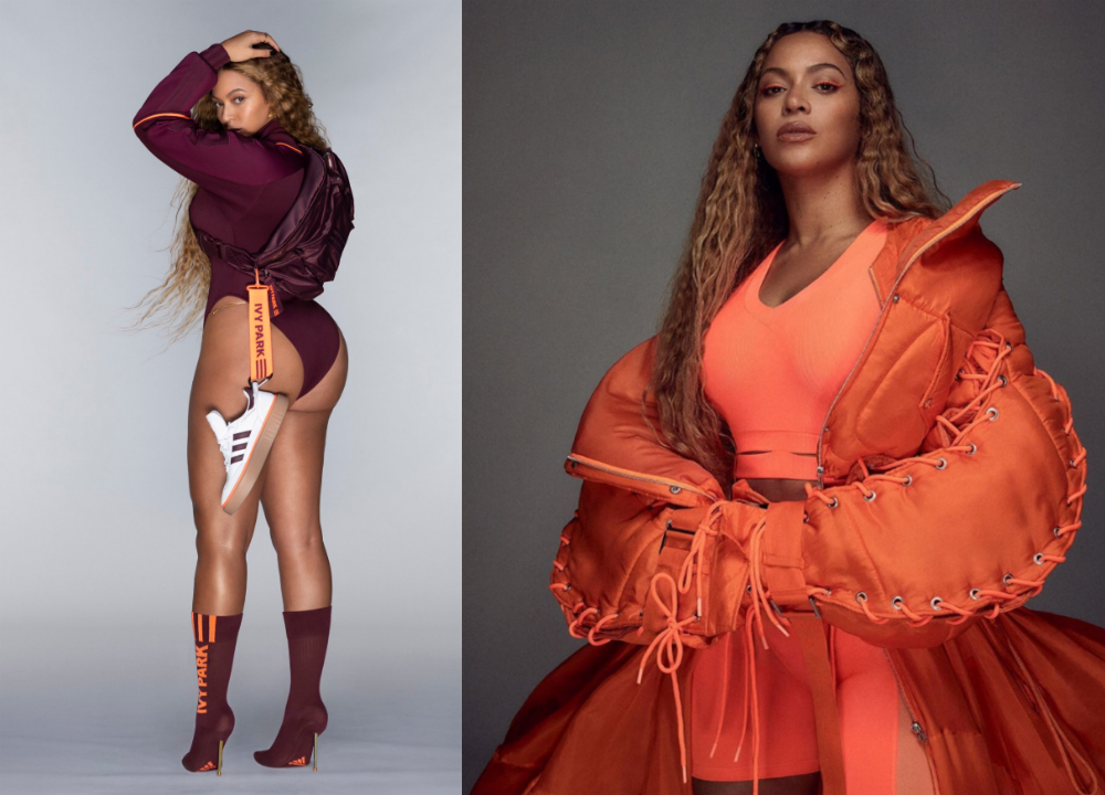Stars Celebrate Beyonce S Ivy Park X Adidas Collection Dose Ca