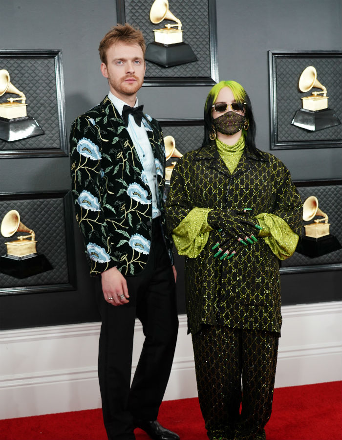 grammys2020-Billie Eilish and Finneas O'Connell