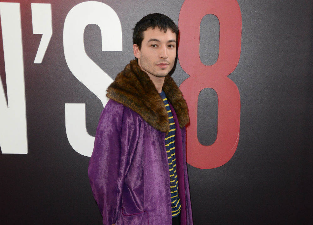 Ezra Miller Appears to Choke Fan in Video