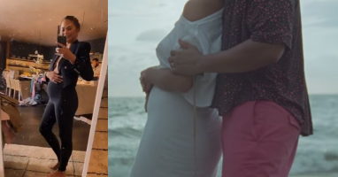 Chrissy Teigen Debuts Baby Bump in New Music Video