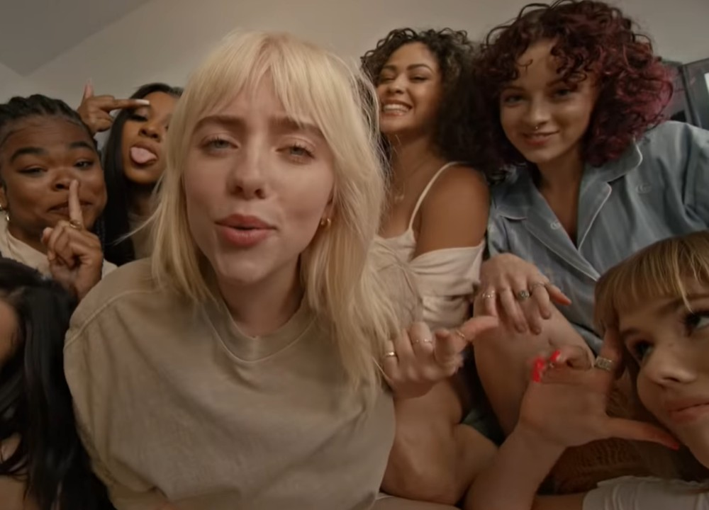 Billie Eilish Has Sexy Slumber Party in New Video thumbnail